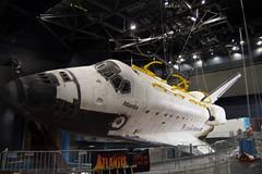 Atlantis Exhibit at Kennedy Space Center