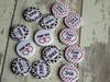 Wedding keepsake Button Badges (koolbadges) Tags: weddingbadges handmade craft weddingfavor koolbadges bride pageboy 25mm 1inchbadge smallbusiness handmadebusiness ukhandmade fun small pinbadge buttons buttonbadgs henparty love romance celebrate