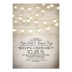 (burlap lace & string lights rustic wedding invites) #Barn, #Burlap, #Casual, #CountryChic, #CountryWedding, #Cute, #Elegant, #Farm, #GardenWedding, #Modern, #OutdoorWedding, #Park, #Ranch, #Rustic, #RusticWedding, #Shabby, #StringLightsWedding, #Trendy, (CustomWeddingInvitations) Tags: burlap lace string lights rustic wedding invites barn casual countrychic countrywedding cute elegant farm gardenwedding modern outdoorwedding park ranch rusticwedding shabby stringlightswedding trendy twinklelightsweddings vintage vintagewedding is available custom unique invitations store httpwwwzazzlecomburlaplacestringlightsrusticweddinginvites256027008786534315rf238062003443194985 weddinginvitation weddinginvitations