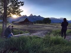 Mormon Row (Kconrad2k) Tags: sunset barns jacksonhole mormonrow