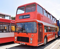 Yorkshire Traction (In Preservation). MWG 941X. 941. (P@ul's Tr@nsport @lbums) Tags: red bus vintage bristol nbc vrt yorkshire preserved vr psv barnsley yorkshiretraction