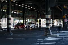 Under The Tracks (Jackson Chu) Tags: brooklyn downtown jacksonchusouthflorida manhatten midtown ny nyc newyorkcity uptown subway