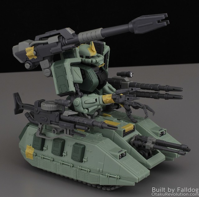 Motor King - 1-100 Zaku Tank Review 9 by Judson Weinsheimer