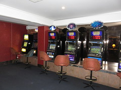 The Bunker (former Mansions Bar) (RS 1990) Tags: thebunker mansions bar tavern basement adelaide city southaustralia thursday 1st september 2016 pokies pokiemachines
