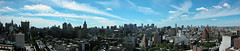 South View from my roof (2007) - Panorama (TheMachineStops) Tags: 2009 nyc newyorkcity photoshop outdoor buildings clouds rooftop views skyline city greenwichvillage manhattan panorama cityscape