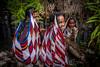 Girls with Noken (tehhanlin) Tags: indonesia papua westpapua irianjaya nusantara honai noken wamena sony a7r2 a7rm2 ngc travel portrait humaninterest sukudani jayapura koteka