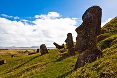 rapa nui 213 16 48  0835 (moments caught in flight) Tags: rapanui easterisland moai ranoraraku quarry