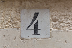 4 - Personal Photography Number Seqence (Marco F75) Tags: 4 four number numero numeri 4frame
