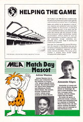 Maidstone United vs Northampton Town - 1990 - Page 12 (The Sky Strikers) Tags: maidstone united northampton town barclays league division four stones official match programme one pound