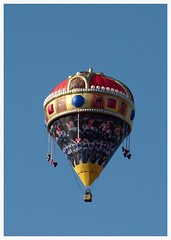 Hungarian Holy Crown hot air balloon (max tuguese) Tags: air balloon fly street color sony maxtuguese hungarian holy crown festival carnival debrecen