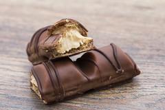 Sweet Spot Squared (Explored September 19,2016) (Inka56) Tags: macromondays sweetspotsquared kinderbueno sweet desert chocolate