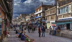 Leh (Fil.ippo) Tags: leh tibet ladakh jammuandkashmir india street cityscape people hdr filippo filippobianchi d5000 urban