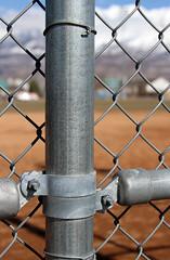 Chain Link (arbyreed) Tags: arbyreed fence chainlinkfence depthoffield close closeup hff fencefriday utahcountyutah