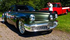 Restomod Tucker (hz536n/George Thomas) Tags: riverside park orphans car show 2016 cs5 canon canon5d ef1740mmf4lusm michigan september summer ypsilanti carshow copyright replica lower48 riversidepark orphanscarshow