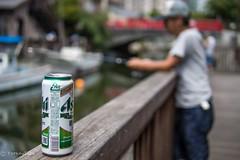 Relax time (Yorkey&Rin) Tags: 2016 august beer em5 fishing japan leicadgsummilux25f14 olympus rin summer sunday t8141883 tokyo tsukishima