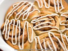 Protein Cinnamon Buns (3/3) (Bitter-Sweet-) Tags: vegan food sweet baking recipe homemade cinnamon spice rolls buns dough healthy protein highprotein proteinpowder hpnnaturals prozero yeast icing creamcheese dairyfree easy swirl spiral baked