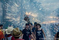 A Correfoc  at the Festival of Santa Tecla in Sitges (keithhull) Tags: correfoc santatecla sitges catalunya catalonia spain fireworks