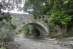 e keswick bridge (Simon -n- Kathy) Tags: keswick england lakedistrict lakelands hike rain walk castlerigg