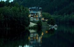 """ Our holiday hotel Tschechien "" (Kalbonsai) Tags: hotel nikon d5100 1685mm achitektur waterscape naturshot otdoorphotography nightphotography holyday trees view tschechien czech"
