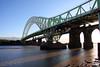 Northern England #0085 Widnes 140911 Runcorn-Widnes Bridge (Steveox55) Tags: road bridge merseyside widnes rivermersey