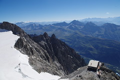 Rifugio Torino (Riccardo Centis) Tags: skyway monte bianco mont blanc punta helbronner neve snow ghiaccio montagna ghiacciaio alpi valle daosta glacier panorama rifugio torino refuge valdigne
