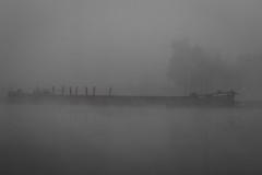 Geisterschiff auf dem Main (texge-pictures) Tags: 2016 flus geisterschiff main marktbreit nebel stativ ruhig