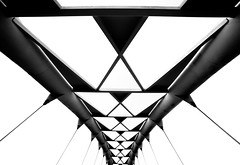 Daenerys Targaryen (JohnNguyen0297 (slowly catching up)) Tags: mono toronto canada bridge blackandwhite a6000 ilce6000 upshot perspective cloudless cool daenerys gameofthrones johnnguyen johnnguyen0297 abstract bnw 1018 1018mm wideangle