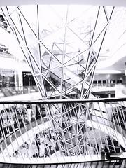 MyZeil Shopping Center - Frankfurt (luigisantoro1) Tags: frankfurt zeil black white architecture