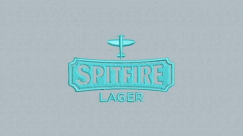 digitized #spitfire - true flat rate embroidery digitizing - prices start at $5.99 per design. Email your artwork in pdf, jpg or png format to indiandigitizer@gmail.com. http://ift.tt/1LxKtC5 #FlatRateEmbroideryDigitizing #Indiandigitizer #embroiderydigit