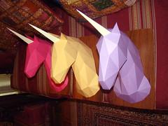 MONOCERI 4 (SERRESUNDIAL) Tags: unicorn monoceros brenikou hellas macedoniaeasthellas papercraft