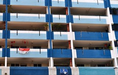 Goodbye Rocher 02 (fionatkinson) Tags: singapore asia rocher hdb flats urban demolishon old colour architecture landscape