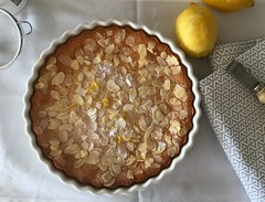 Lemon, ricotta and almond flourless cake (glutenfree) (gamze avci) Tags: donnahay tart cake lemon ricotta almond glutenfree