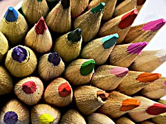 colouring pencils (Jackal1) Tags: pencils colouring colours arty childhood vivid vibrant wood lead