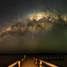 Milky Way over Lake Clifton, Western Australia - 35mm Panorama