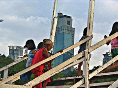 STAIRS TO CEMETERY - MANILA_2007_ID HEARN MACKINNON (ID Hearn Mackinnon) Tags: manilaphilippines manila philippines makati cemetery all saints day id hearn mackinnon stairs 2007 pinoy filipino holiday