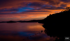 Morning Reflections (fenderltd) Tags: brokenbow oklahoma sunrise fishing lake reflections smooth