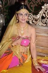 South Actress CHARULATHA Hot Photos Set-2- at Sri Ramanujar film shooting (5)