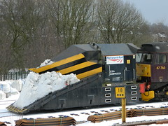 Network Rail Independant Snowplough ADB965224 1Z99 stabled in Buxton URS 27/03/2013 (37686) Tags: buxton rail network snowplough independant urs stabled 1z99 adb965224 27032013