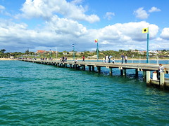 mar13 926 (raqib) Tags: blue sea sky beach mobile pier australia melbourne rc frankston iphone shadesofblue frankstonpier raqib raqibchowdhury