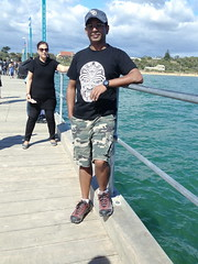 mar13 905 (raqib) Tags: blue sea sky beach mobile pier australia melbourne rc frankston iphone shadesofblue frankstonpier raqib raqibchowdhury