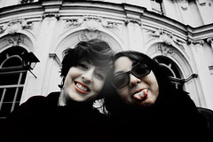 Return to the eternal ancient (Greten_) Tags: old friends light red people blackandwhite italy white black building window water beautiful smile face vintage dark hair landscape person sadness ancient perfect antique vampire infinity empty gothic bad dream evil atmosphere valentine lips piemonte fantasy damn romantic elegant delicate emotions turin stupinigi
