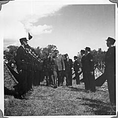 Borrestevnet 1943, Vidkun Quisling og Rikshirden. (Riksarkivet (National Archives of Norway)) Tags: ns worldwarii secondworldwar quisling krigen vidkunquisling andreverdenskrig okkupasjonstiden