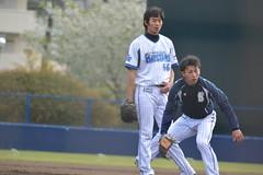 DSC_6645 (mechiko) Tags: 王溢正 田中健二朗 横浜denaベイスターズ