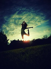 Summer 2012 (Eleanor.Alice.X) Tags: sunset summer sun clouds jump shadows dreams hopes inspire