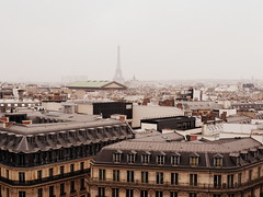 Paris (alorollo) Tags: travel paris france travelling misty fog skyline architecture buildings landscape photography student personal eiffeltower toureiffel amiens yearabroad