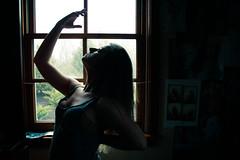 318.365 - Lola Garca Flores (KatGatti) Tags: portrait woman sunlight selfportrait girl beautiful silhouette canon emotion lola 365 gatti enriqueiglesias 365project