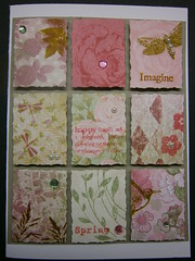 Imagine Spring (123bear65 (Kim)) Tags: ornate gems heroarts inkadinkado mpress kaisercraft cl383 cg430 cg215 cl479 cl477 cg509 cg447 gridtag2013