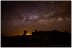 The Milky Way At Arches (Robin-Wilson) Tags: night clouds stars utah bravo glow gardenofeden moab archesnationalpark manualfocus f28 230am milkyway noisereduction 14mm 25seconds manualexposure iso5000 nikon1424mm28 nikond800 lightroom43