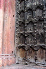 Rustic (Jocey K) Tags: door wood old italy detail church design rustic worldheritagesite verona santanastasia cosmostour6330
