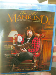 For All Mankind Bluray (earthdog) Tags: canon dvd wrestling powershot wwe bluray prowrestling mickfoley 2013 a4000is canonpowershota4000is powershota4000is